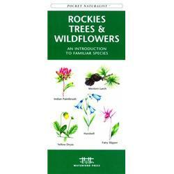 Rocky Mtn Trees amp; Wildflowers Book