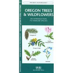 Oregon Trees amp; Wildflowers Book