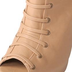 Adi Designs Women's 'Forever' Open Toe Platform Stiletto Boots - Thumbnail 2