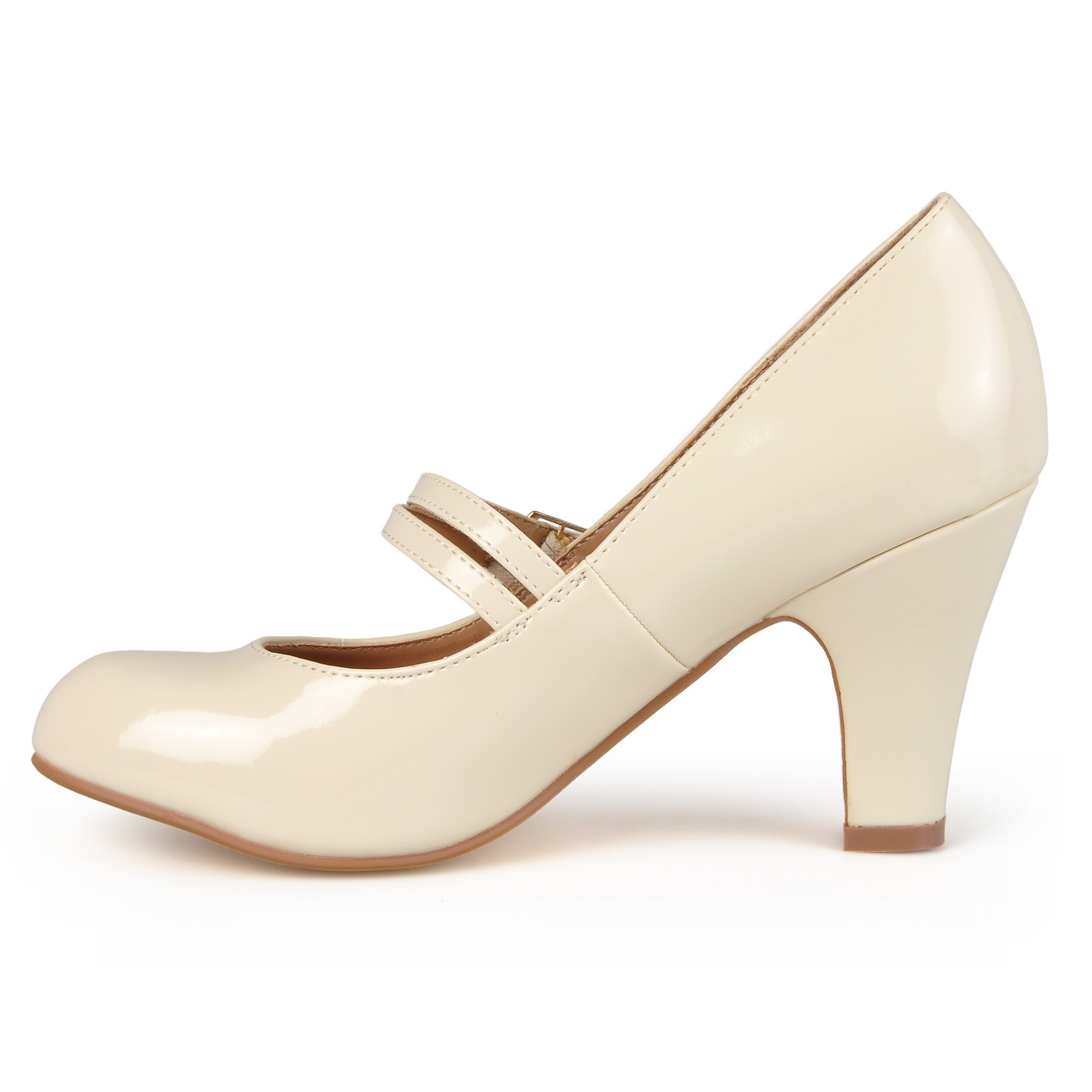 Journee Collection Women's 'WENDY-09' Patent Mary Mary Mary Jane Pumps 85cd62