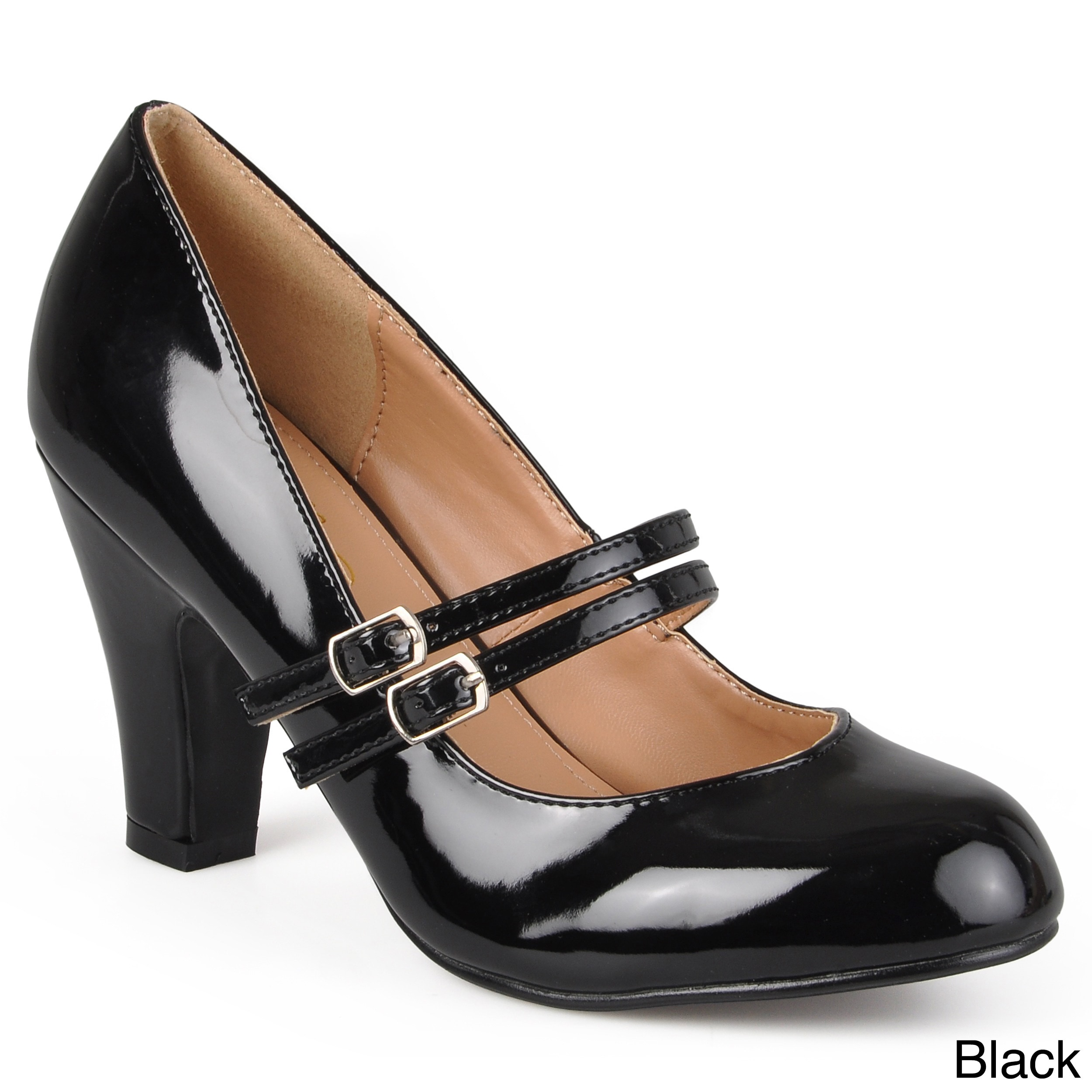 WENDY-09' Patent Mary Jane Pumps
