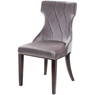 Regis Grey Velvet Chairs (Set of 2)