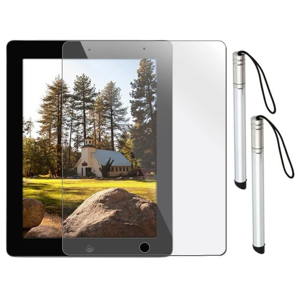 3-piece LCD Screen Protector with Stylus for Apple iPad 2