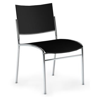 Mayline Escalate Stacking Chairs (Set of 4)