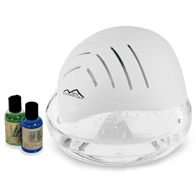 New Comfort Water-based Air Humidifier and Purifier, Grey...