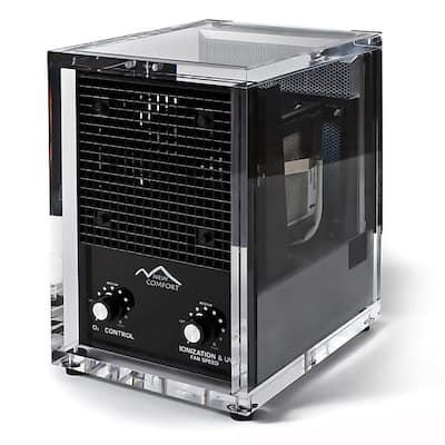 New Comfort CA3500 Acrylic Washable HEPA Air Purifier