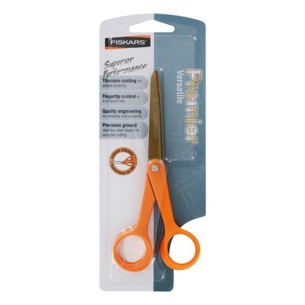 Fiskars Seven-inch Premier Versatile Stainless Steel Scissors