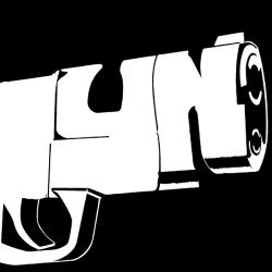 Los Angeles Pop Art Women's Brooklyn Gun V-Neck - Thumbnail 2