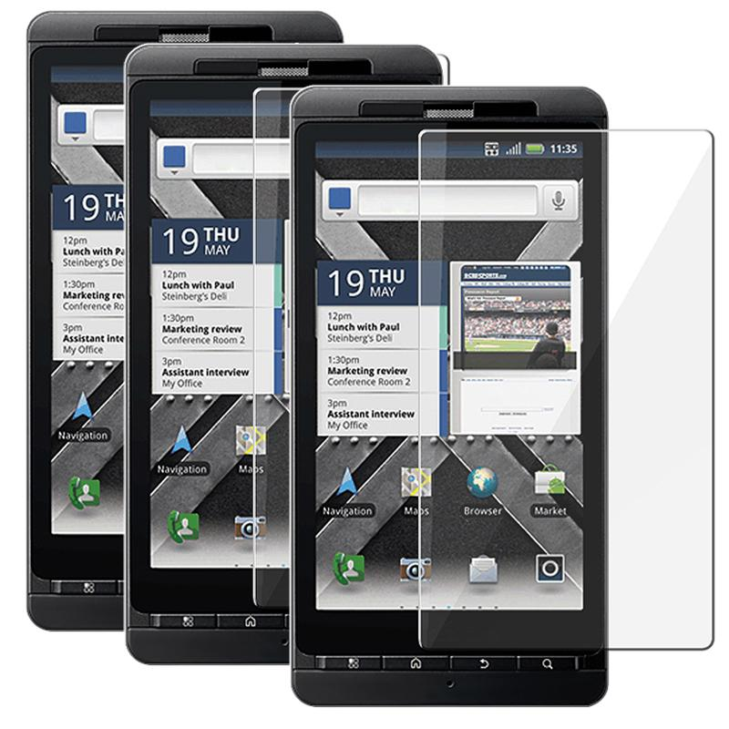 Motorola Droid X2 Daytona LCD Screen Protectors (Pack of 3)