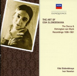 Oda Slobodskaya - Art Of Oda Slobodskaya