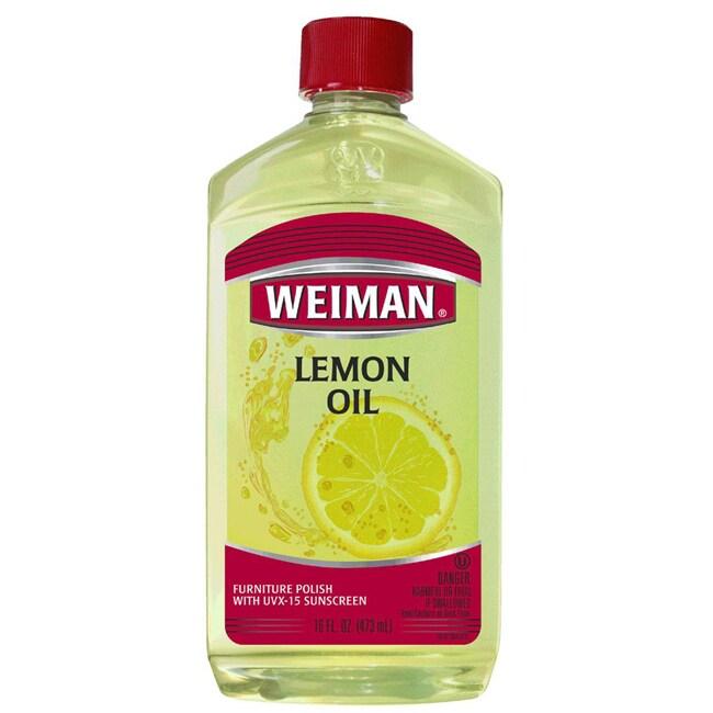 Weiman 16-ounce Lemon Oil/ Sunscreen (Pack of 2)