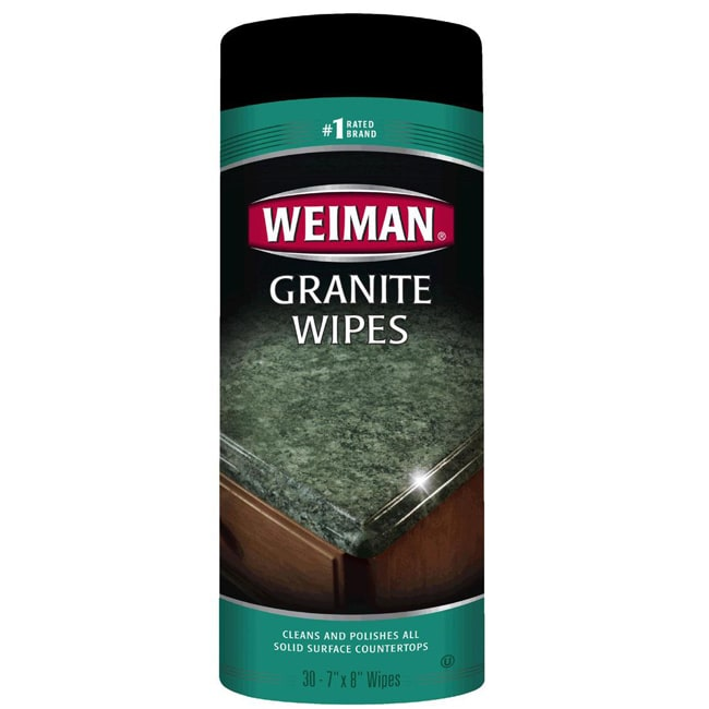 Weiman Granite Wipes Canisters (Pack of 2)