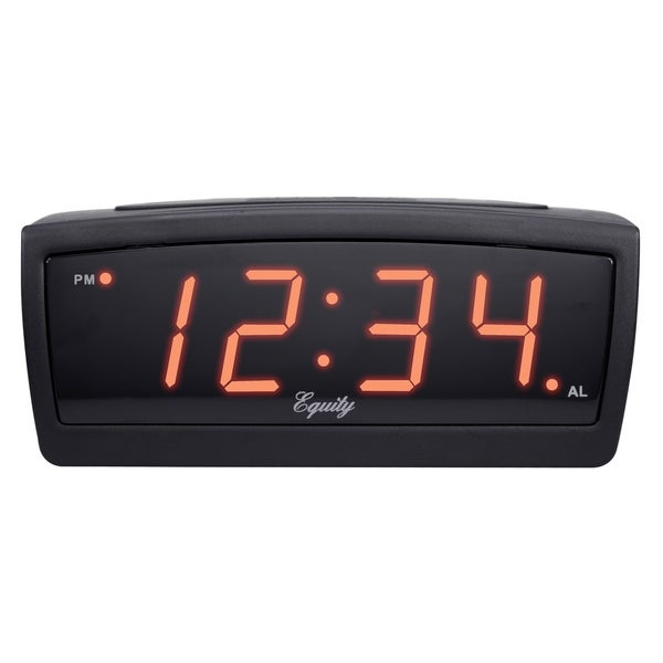 "Equity by La Crosse 30902 12V LED travel ""Trucker's"" alarm clock"