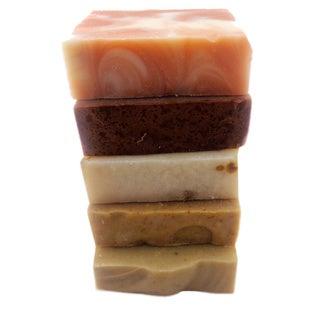 The Natural Handmade Soaps Gift Set (Set of 5)