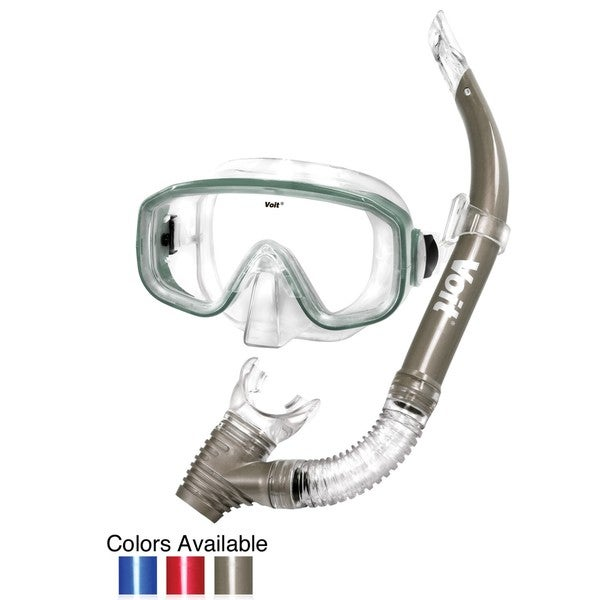 Dolphin Adult Mask and Snorkel Combo (Colors will vary)