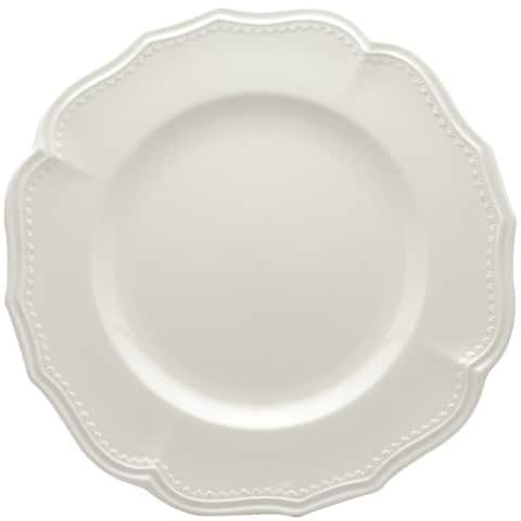 "Classic White Dinner Plates 11.25"" Set/4"