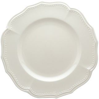 Red Vanilla Classic White 11.25-in Dinner Plates (Set of 4)  sc 1 st  Overstock & Red Vanilla Pinpoint White Dinner Plates (Set of 6) - Free Shipping ...