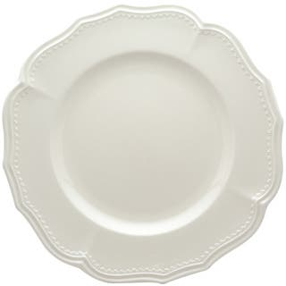 "Classic White Dinner Plates 11.25"" Set/4"