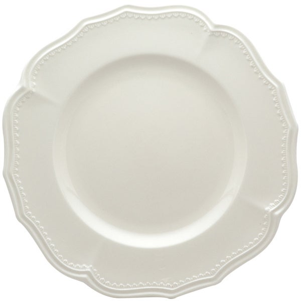 Red Vanilla Classic White 11.25-in Dinner Plates (Set of 4)  sc 1 st  Overstock.com & Red Vanilla Classic White 11.25-in Dinner Plates (Set of 4) - Free ...