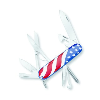 Victorinox Swiss Army Super Tinker U.S. Flag Pocket Knife