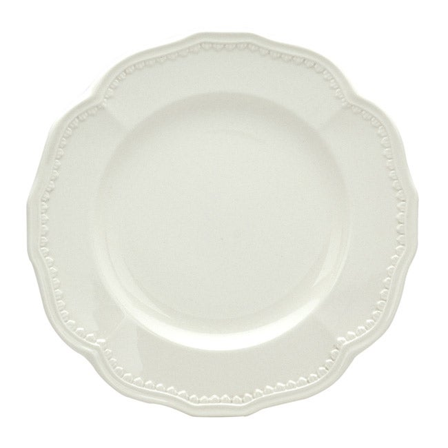 "Classic White Salad Plates 8.75"" (Set of 4)"