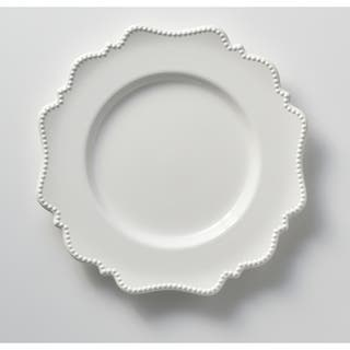 Red Vanilla Pinpoint White Dinner Plates (Set of 6)|https://ak1.ostkcdn.com/images/products/6072155/P13745143.jpg?impolicy=medium
