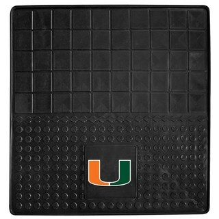 Fanmats University of Miami Heavy Duty Vinyl Cargo Mat
