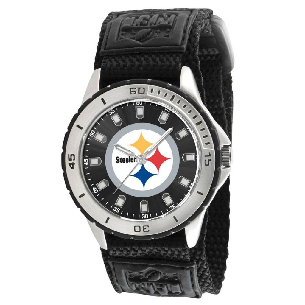 Game Time Pittsburgh Steelers Veteran Series Watch