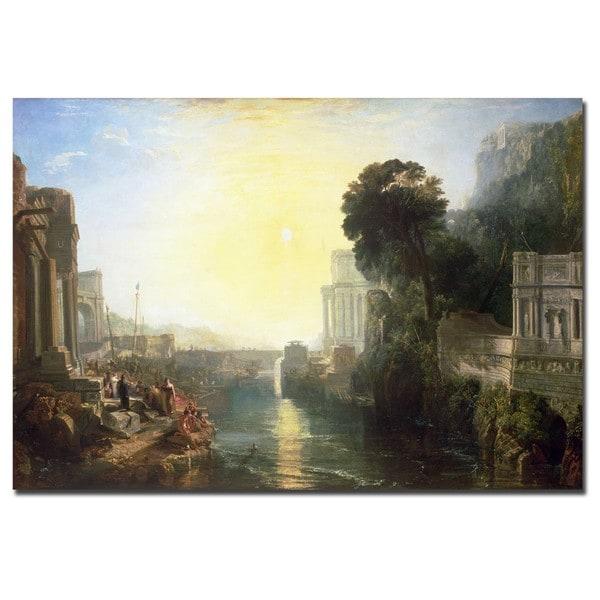 Joseph Turner 'Dido Building Carthage 1815' Canvas Art