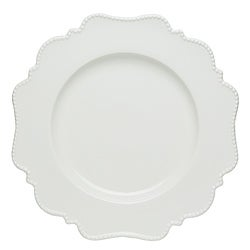 """Pinpoint White Salad Plate 8"""" (Set of 6)"""