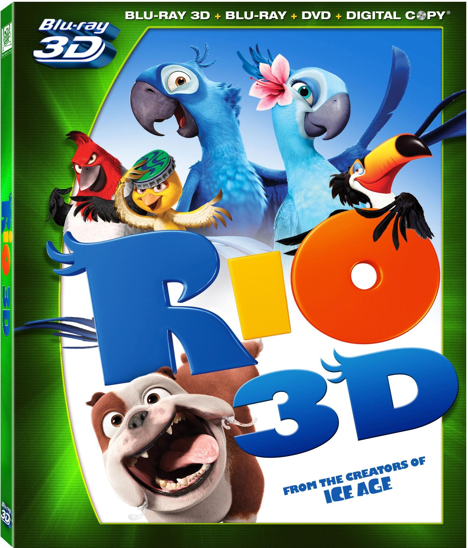 Rio 3D (Blu-ray/DVD)