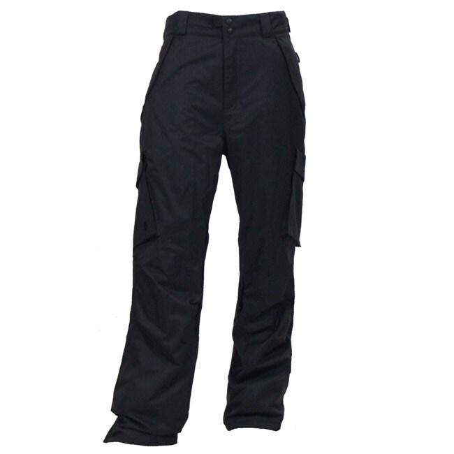 Boulder Gear Men's Black Cargo Snowboard Pants