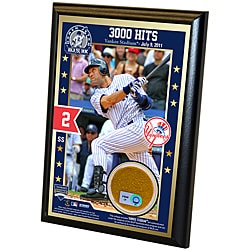 Steiner Sports Derek Jeter 3000th Hit Plaque