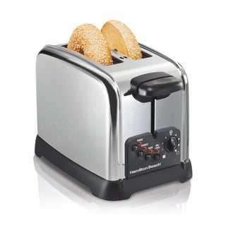 Hamilton Beach Classic Chrome Cool Touch  2-slice Toaster