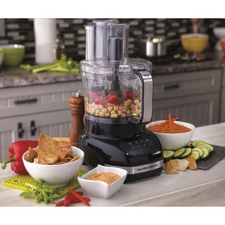 Hamilton Beach Big Mouth Dual Bowl Food Processor|https://ak1.ostkcdn.com/images/products/6075082/P13747559.jpg?impolicy=medium