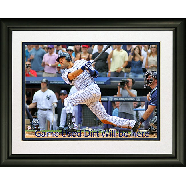 Steiner Sports Derek Jeter 3,000th Hit 'In The Game' Framed 16x20 Collage - Thumbnail 0
