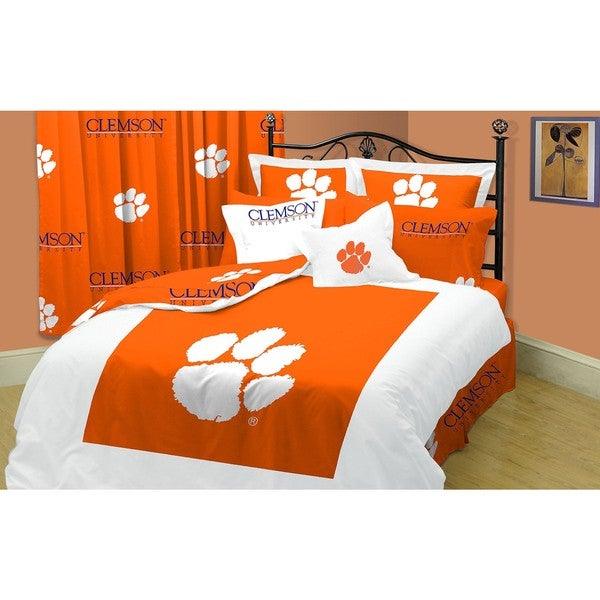 Shop Clemson Tigers Twin Xl Size 10 Piece Dorm Bed In A