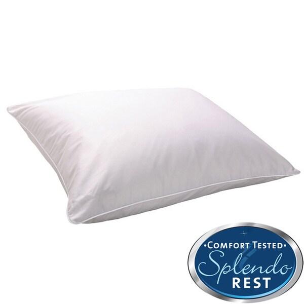 Splendorest 300 Thread Count Cotton Memory Fiber Pillow