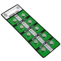 INSTEN AG3 Alkaline Coin Cell Button Battery (Pack of 10)