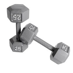 CAP Barbell 20 lb Pair of Hex Dumbbells (Set of 2)