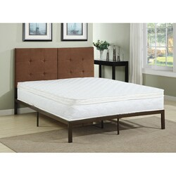 Handy Living Ultra Resort Pillow Top Innerspring 11-inch Twin-size Mattress - WHITE