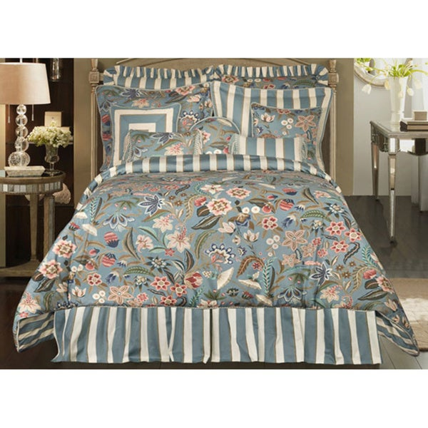 Rose Tree Flora 4-Piece King-size Comforter Set