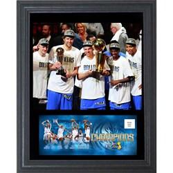 2011 Dallas Mavericks Cachet Frame