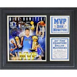 2011 NBA Finals MVP Dirk Nowitzki Frame