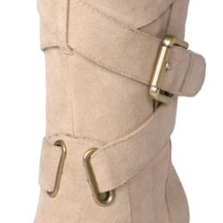 Two Lips Women's 'Too Jasp' Buckle Detail Mid-calf Boots - Thumbnail 2