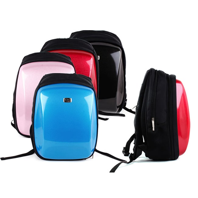 Kroo Hardshell Steele Slim Candy 15.6-inch Laptop Backpack