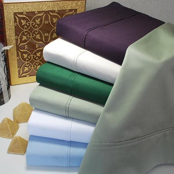 Superior 100-percent Premium Long-staple Combed Cotton 400 Thread Count Pillowcases (Set of 2)