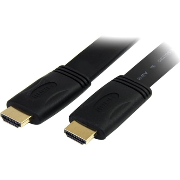 StarTech.com 25 ft Flat High Speed HDMI Cable with Ethernet - Ultra H