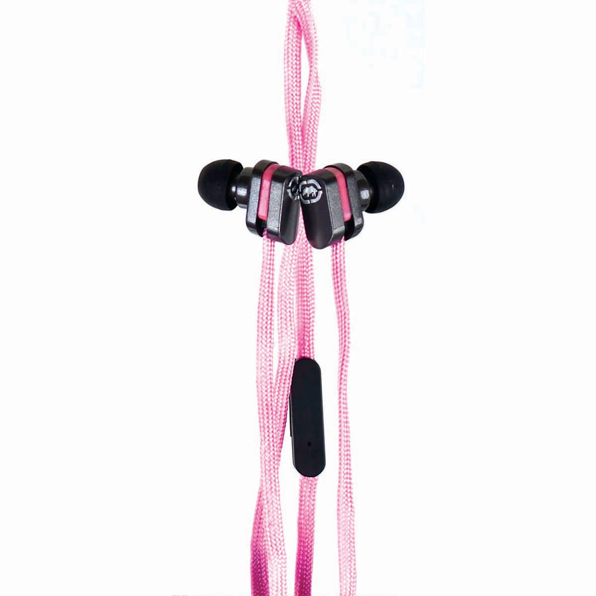 Ecko Lace Pink Earbud and mic EKU-LCE-PK
