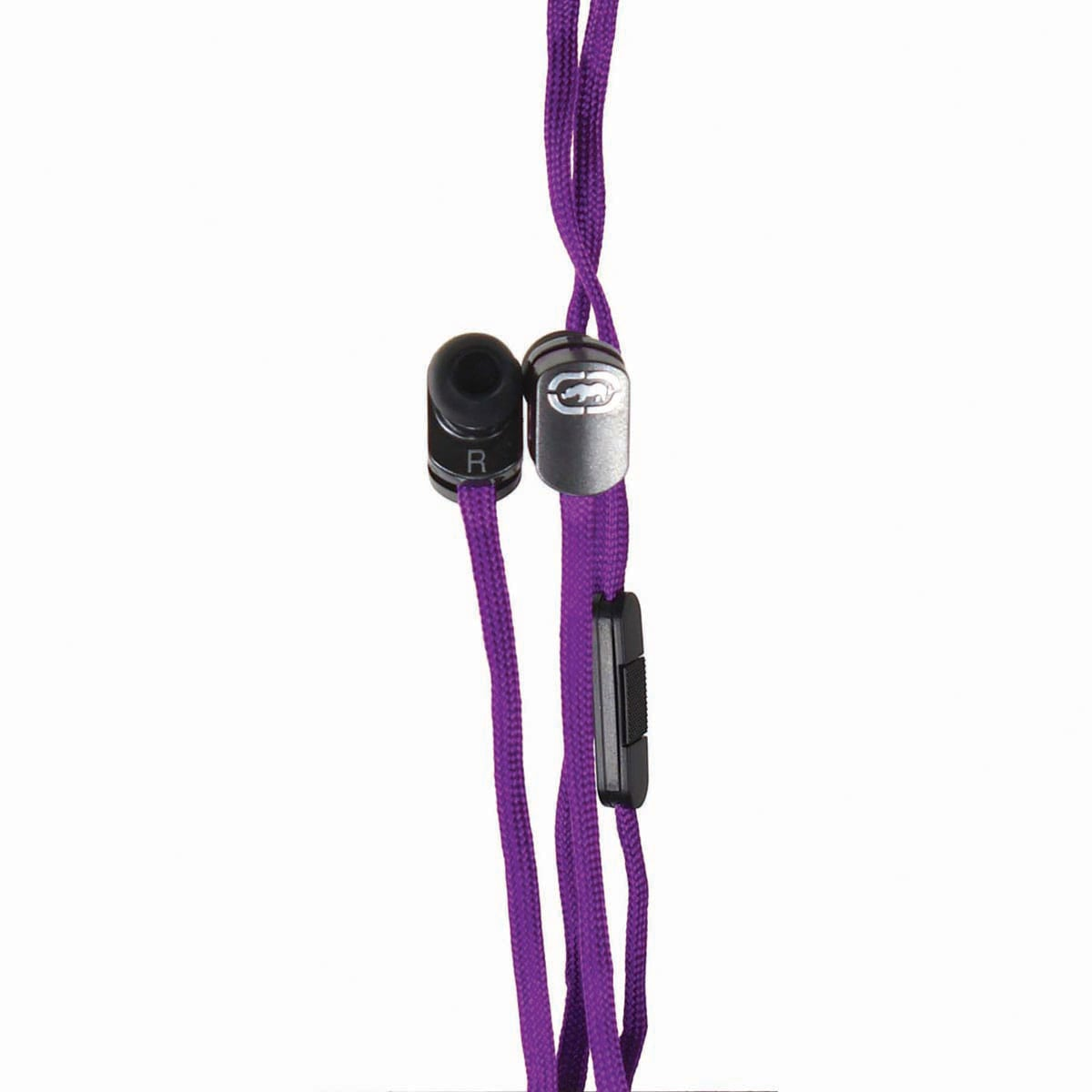 Ecko Lace Purple Earbud and mic EKU-LCE-PRP